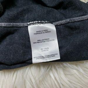 Helmut Lang Tops - Helmut Lang Dark Gray Seam Long Sleeve T Shirt